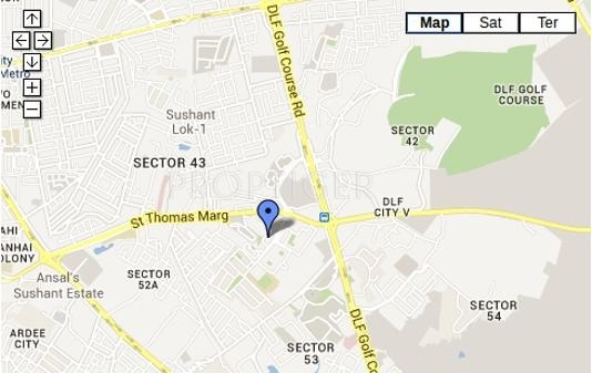 Images for Location Plan of DLF Trinity Towers