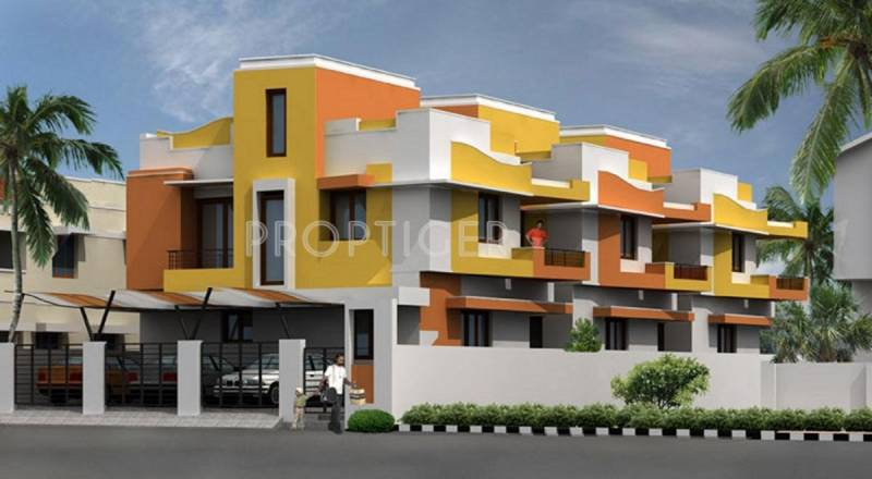 Images for Elevation of Engineers Rishab Villas