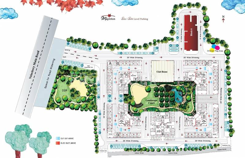 Images for Cluster Plan of Appaswamy Mapleton