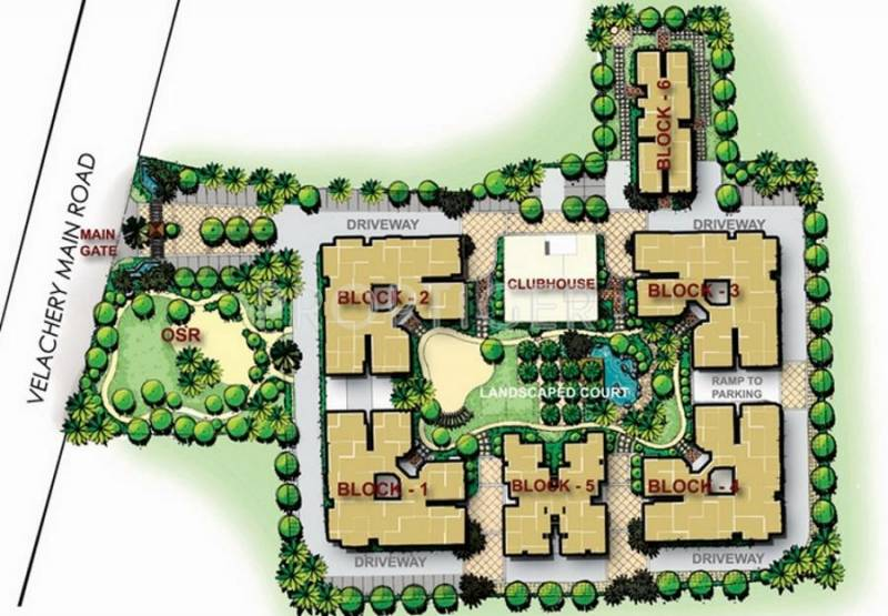 Images for Layout Plan of Appaswamy Mapleton