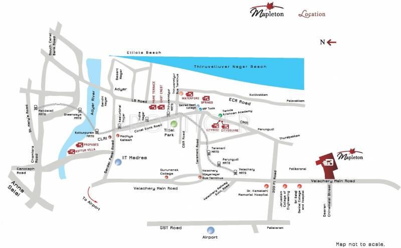 mapleton Images for Location Plan of Appaswamy Mapleton