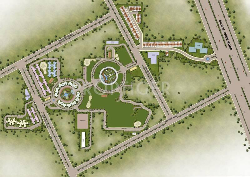Images for Site Plan of Orris Carnation Residency