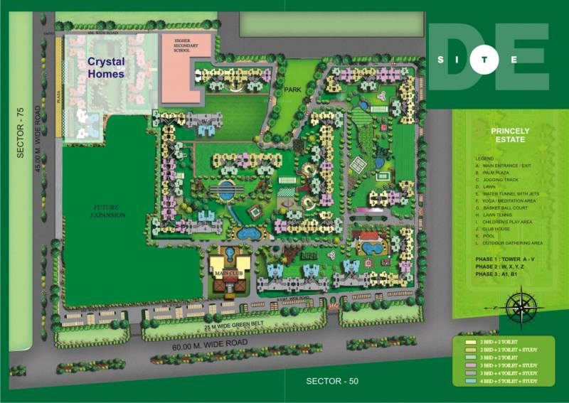 Images for Layout Plan of Amrapali Silicon City