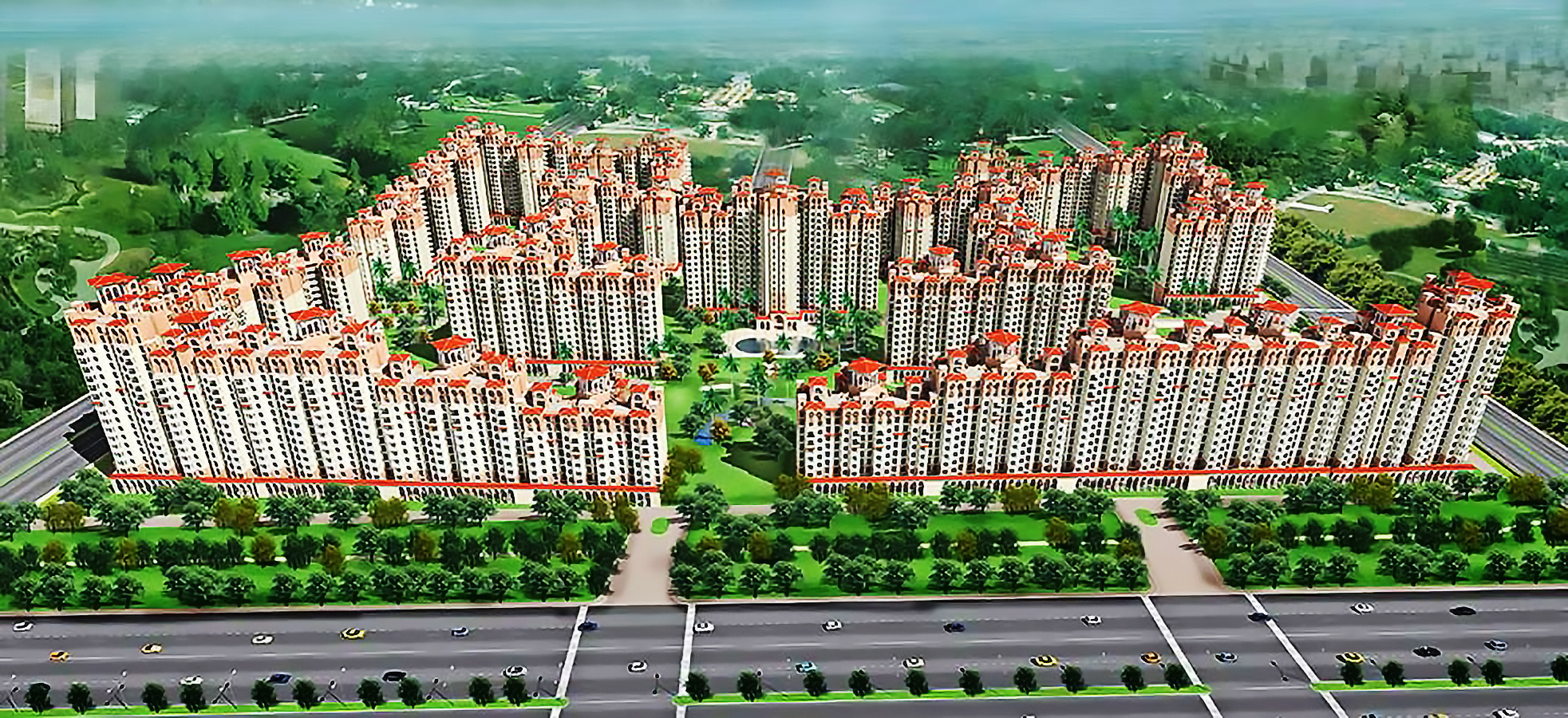 Amrapali Silicon City in Sector 76 Noida