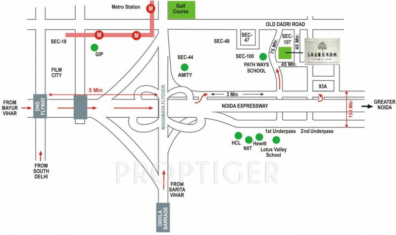 sharanam Images for Location Plan of Great Value Sharanam