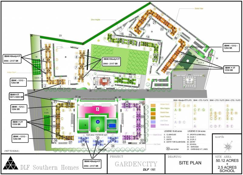 Images for Layout Plan of DLF Gardencity
