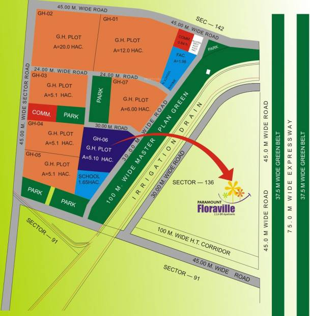 Images for Location Plan of Paramount Floraville