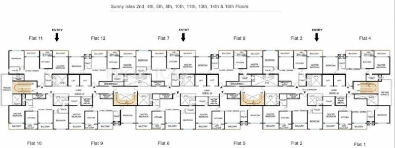 Images for Cluster Plan of Godrej Palm Grove