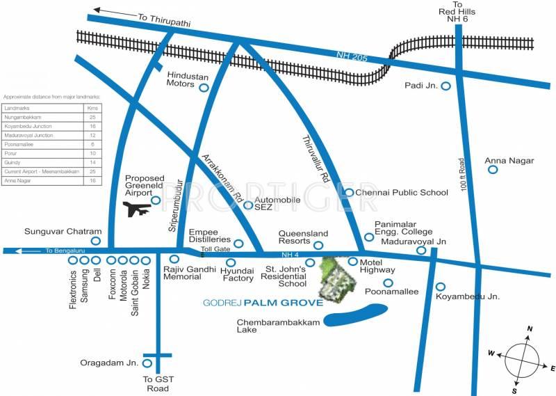 palm-grove Images for Location Plan of Godrej Palm Grove