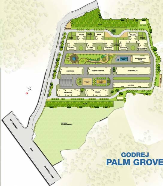 palm-grove Images for Master Plan of Godrej Palm Grove