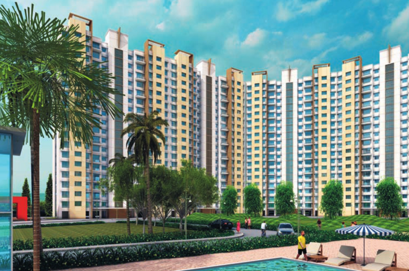 1098 sq ft 3 bhk 2t apartment for sale in lodha group casa for Casa bella