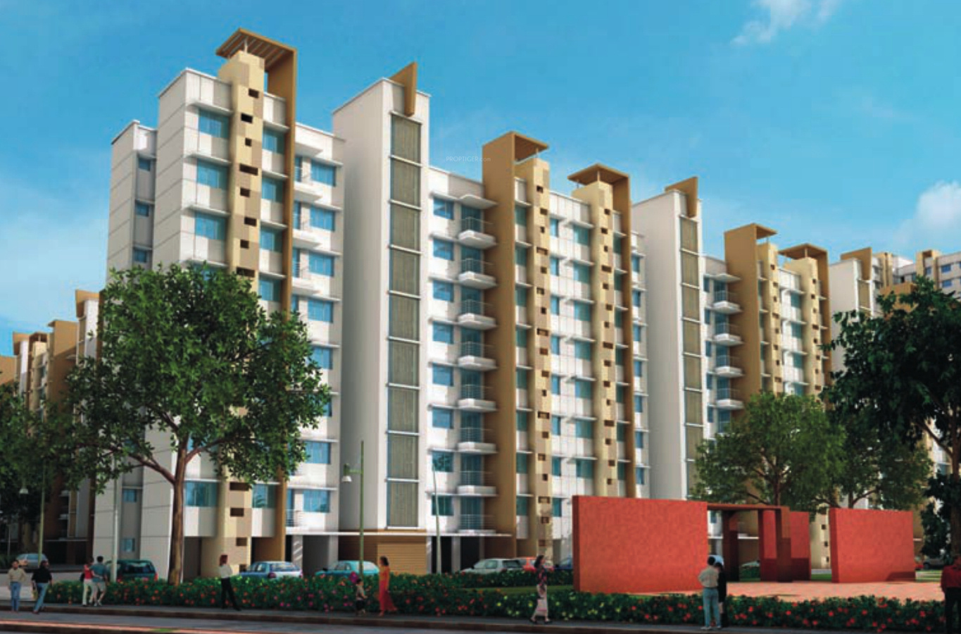 2 bhk 2t apartment for sale in lodha group casa bella gold for Casa bella