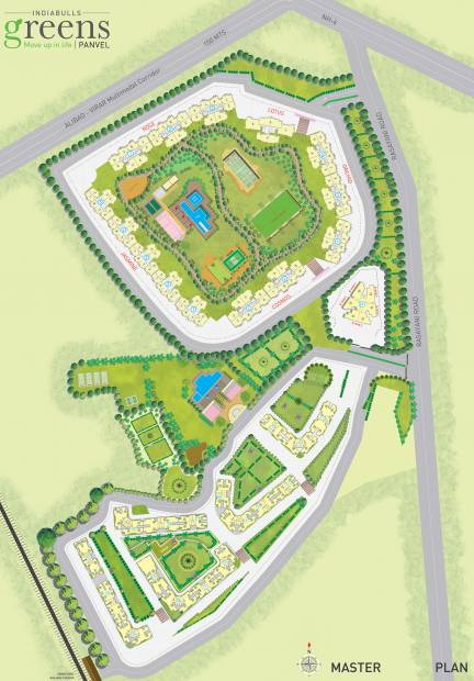 Images for Master Plan of Indiabulls Greens