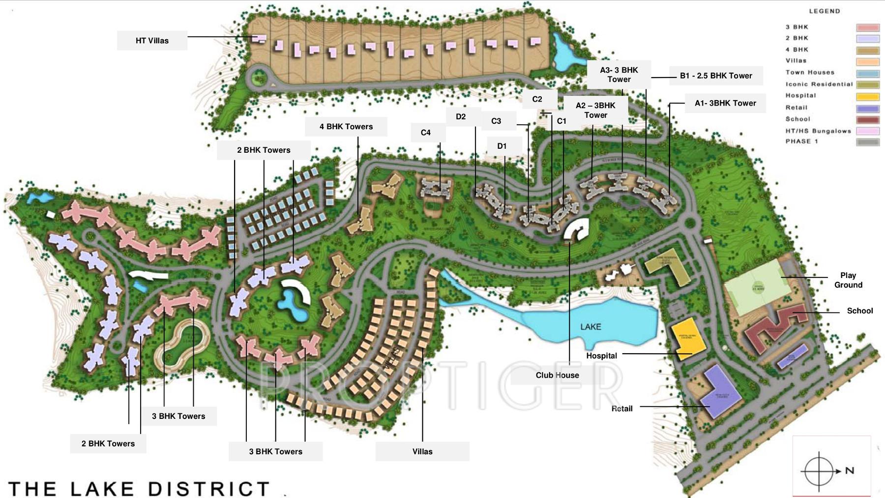 Pra the lake district in kondhwa pune price location for Lake plan