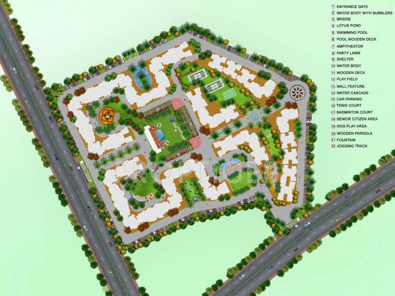 Images for Site Plan of Hubtown Countrywoods