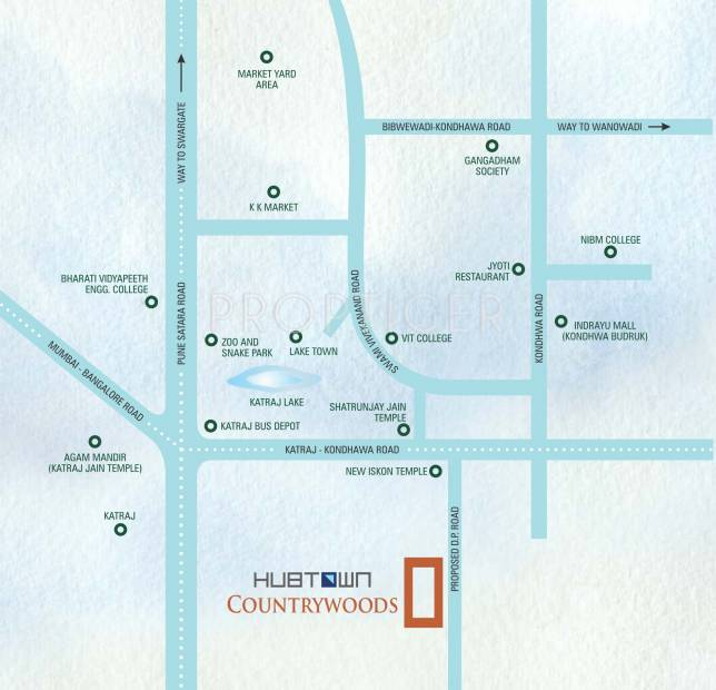 Images for Location Plan of Hubtown Countrywoods