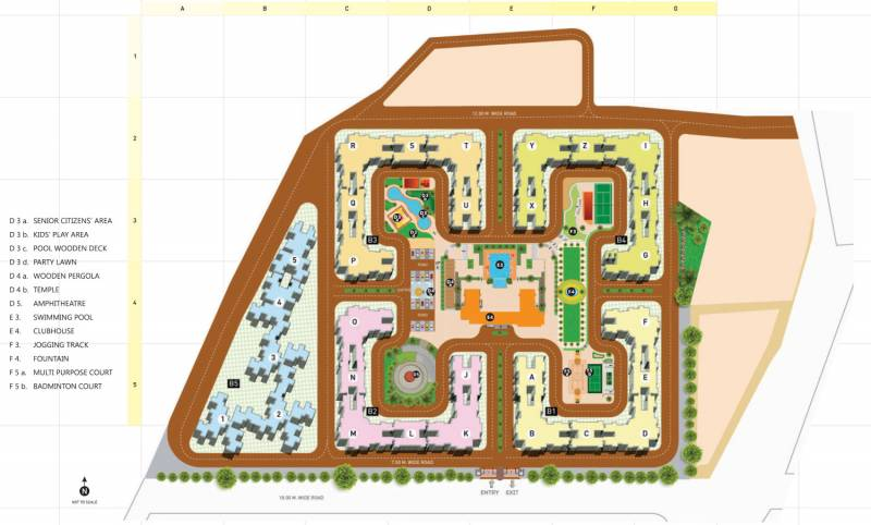 Images for Master Plan of Hubtown Countrywoods