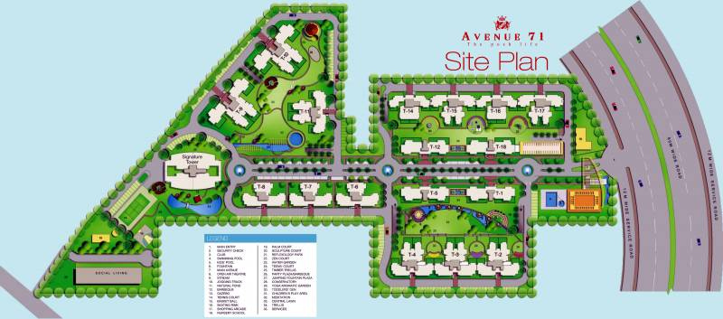 Images for Site Plan of CHD Avenue 71