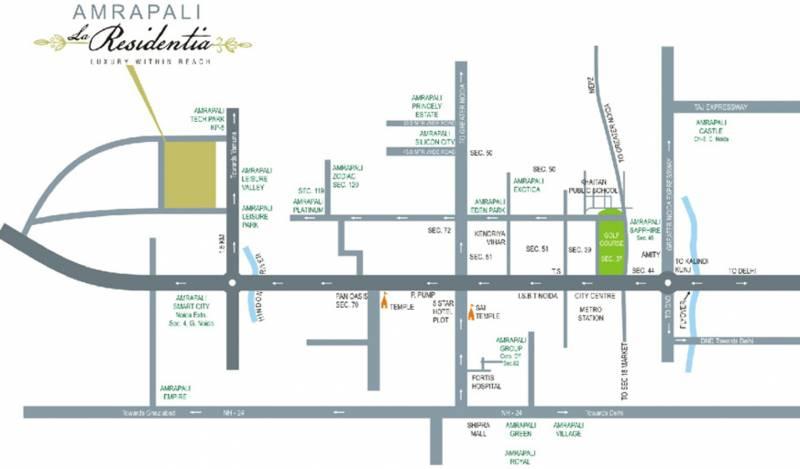 Images for Location Plan of La Residentia Pvt Ltd La Residentia