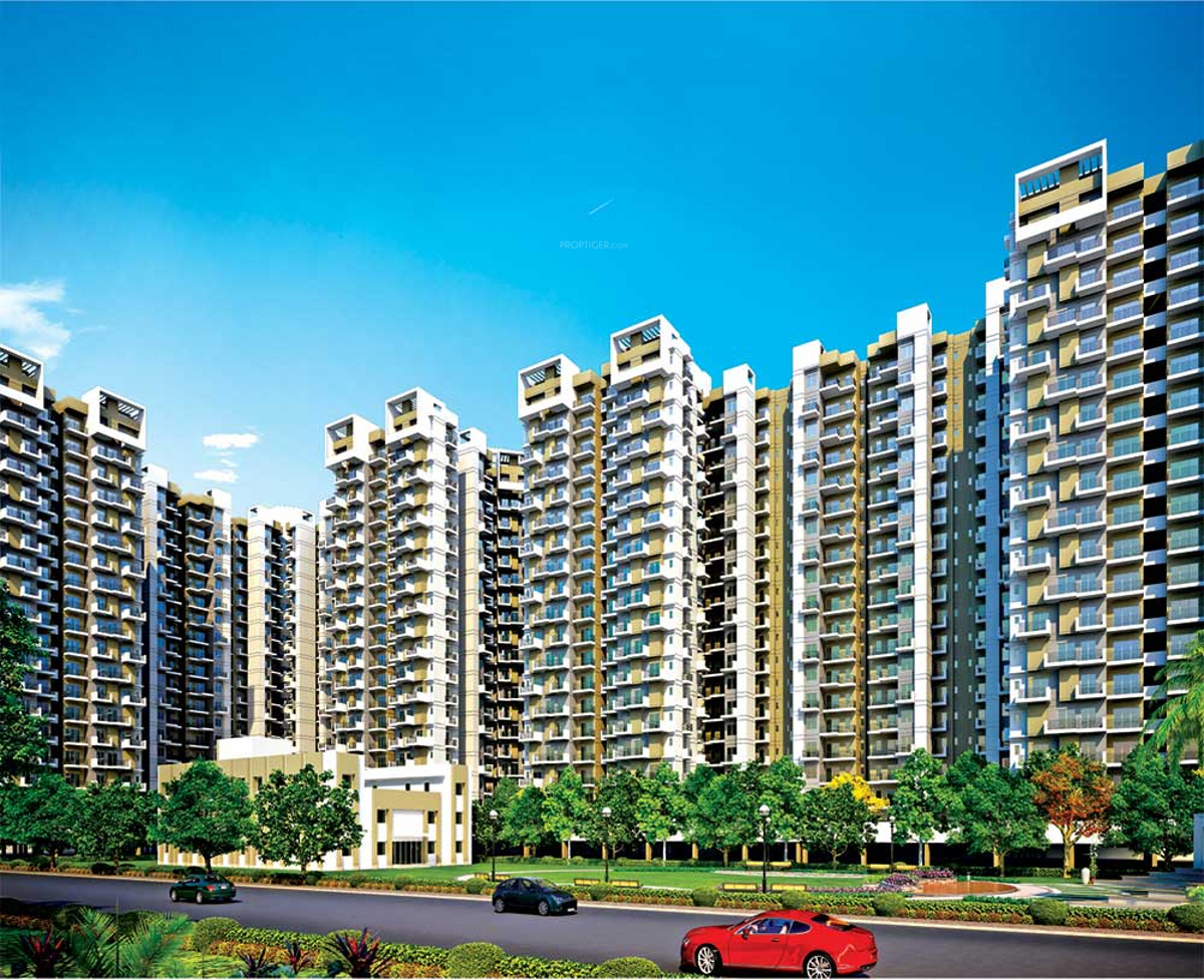 1700 sq ft 3 bhk floor plan image amrapali group terrace for Terrace elevation