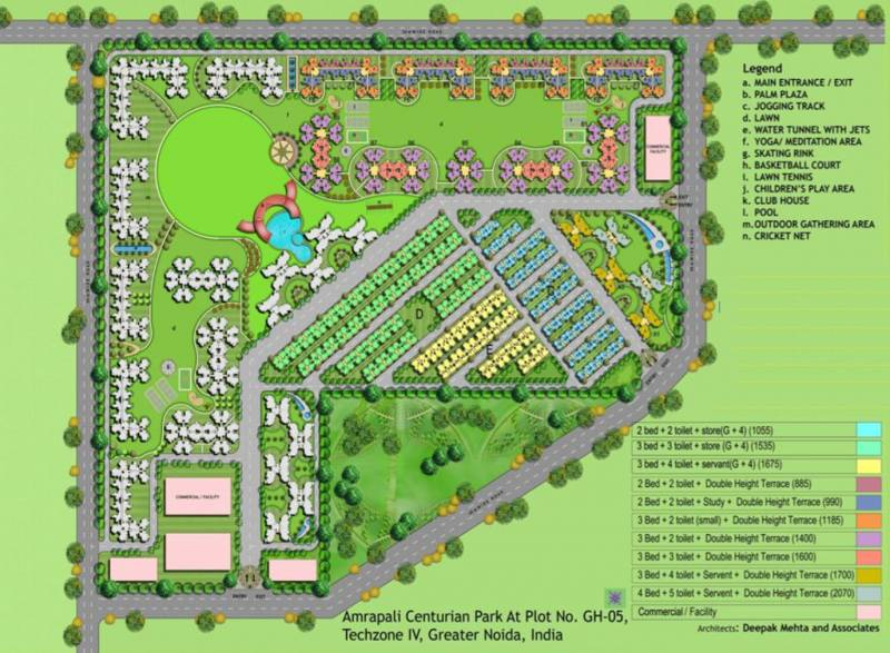 Images for Master Plan of Amrapali Terrace Homes
