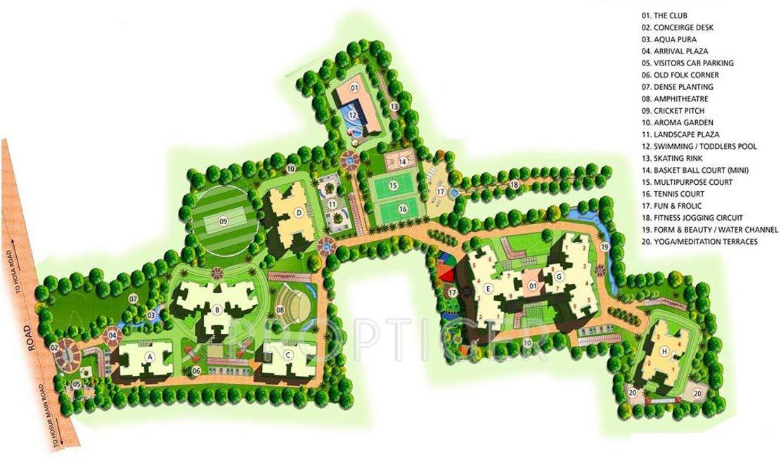 Purva Skywood In Harlur Bangalore Price Location Map