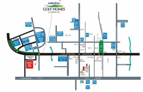 Image Of Location Map Of Amrapali Group Golf Homes Sector 4 Noida Extension Greater Noida Proptiger Com 1,156 likes · 101 talking about this · 851 were here. proptiger