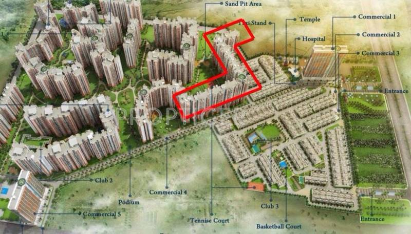 dream-valley Images for Site Plan of Amrapali Dream Valley