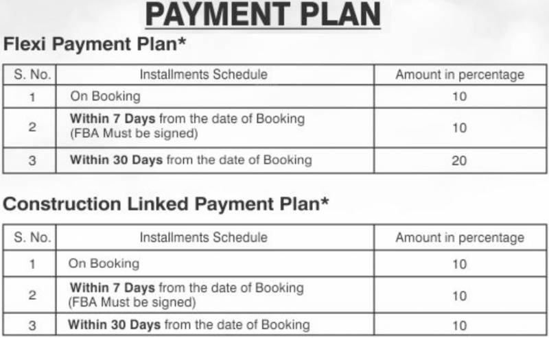 Images for Payment Plan of Amrapali Princely Estate