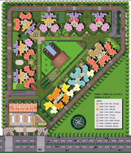 Images for Site Plan of  Spring Meadows