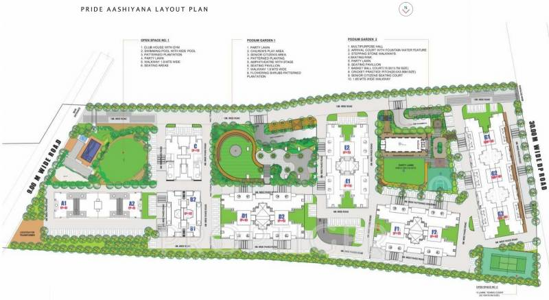 Images for Site Plan of Pride Aashiyana