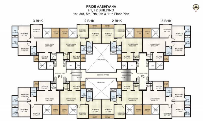 Images for Cluster Plan of Pride Aashiyana