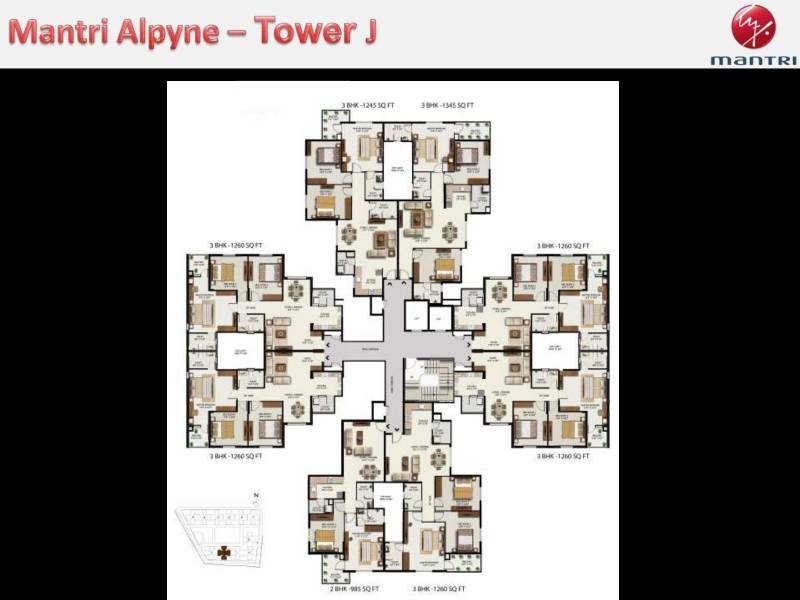 Images for Cluster Plan of Mantri Alpyne