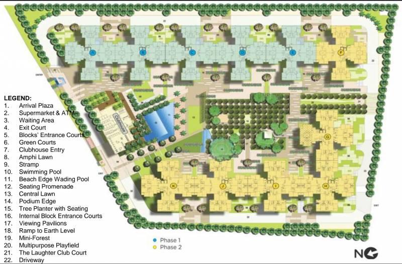 Images for Master Plan of Mantri Alpyne