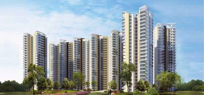 Images for Elevation of Amrapali Heartbeat City
