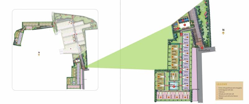 Images for Layout Plan of Unitech Resorts