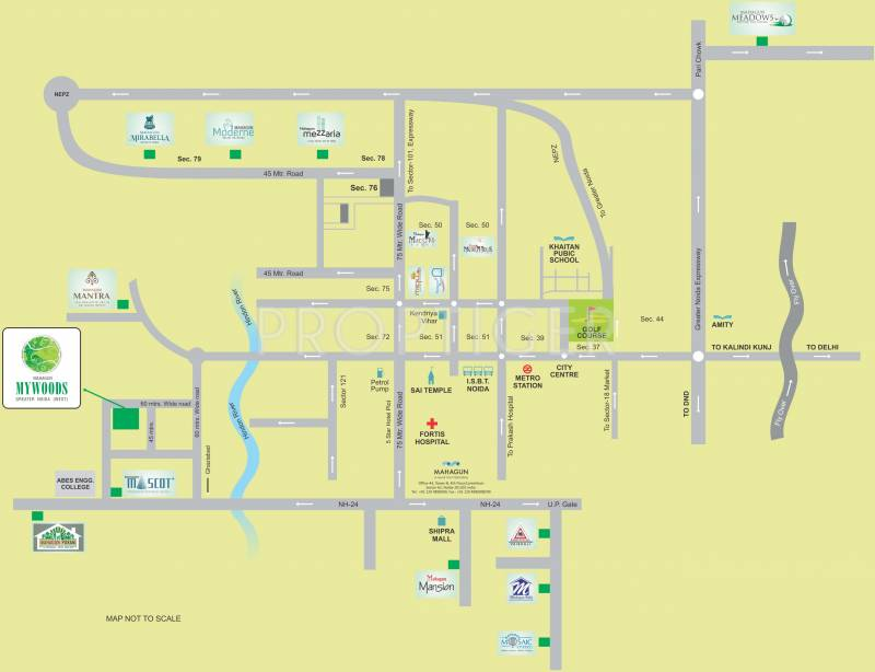 Images for Location Plan of Mahagun My Woods