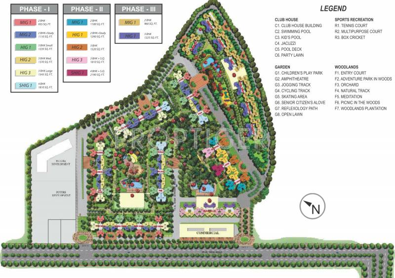 Images for Master Plan of Mahagun My Woods