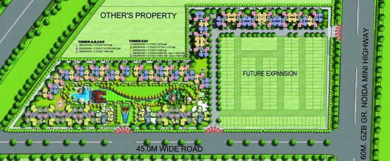 Images for Layout Plan of Amrapali Leisure Park