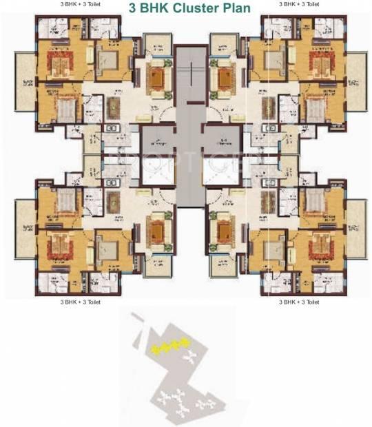 Images for Cluster Plan of Spaze Privvy The Address