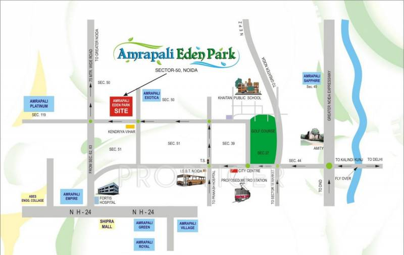 Images for Location Plan of Amrapali Eden Park
