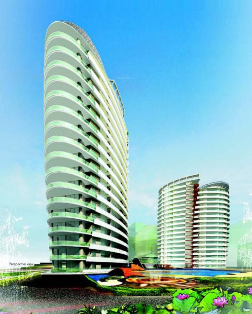 Images for Elevation of Omaxe Twin Towers