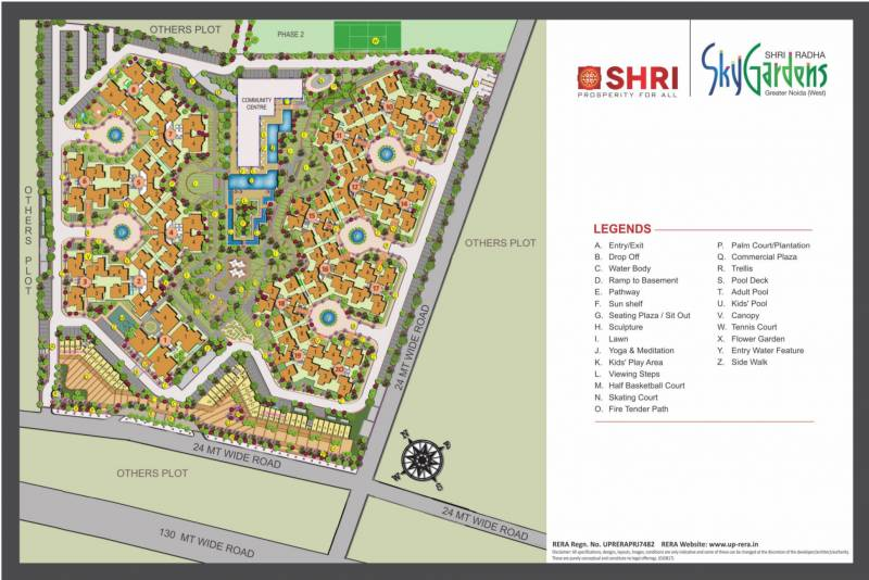 Images for Master Plan of Shri Radha Sky Gardens