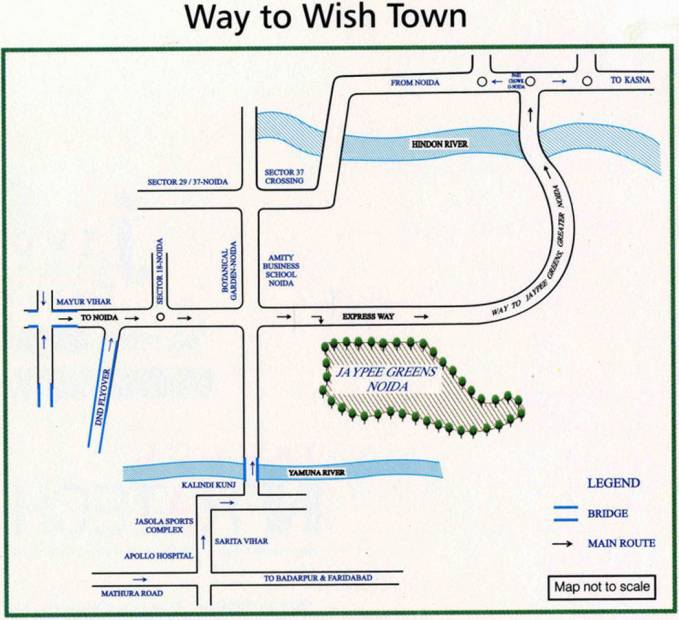 kasa-isles Images for Location Plan of Jaypee Kasa Isles