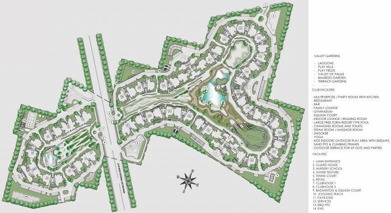 Images for Layout Plan of Ireo Victory Valley