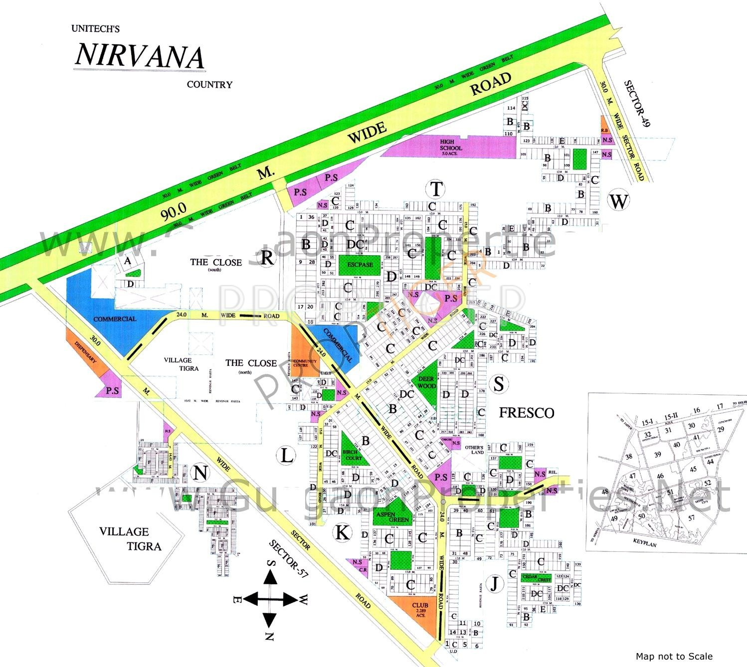 Unitech Nirvana Country In Sector 50 Gurgaon Price