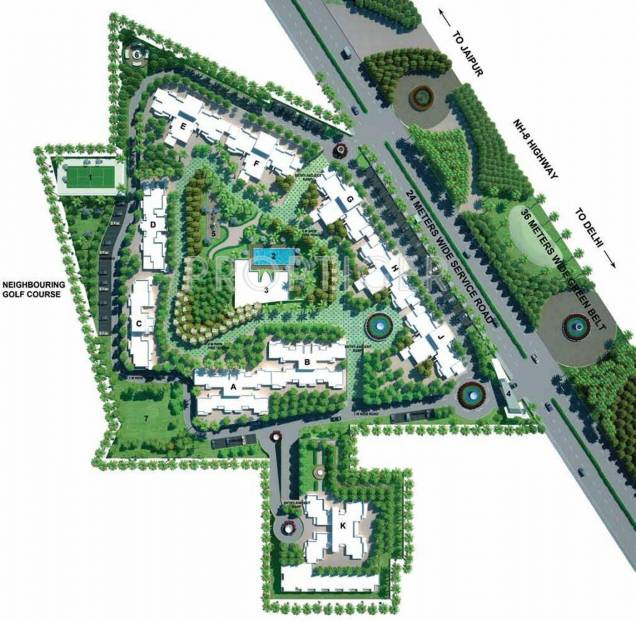 frontier Images for Master Plan of Godrej Frontier
