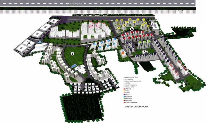 Images for Master Plan of Godrej Garden City