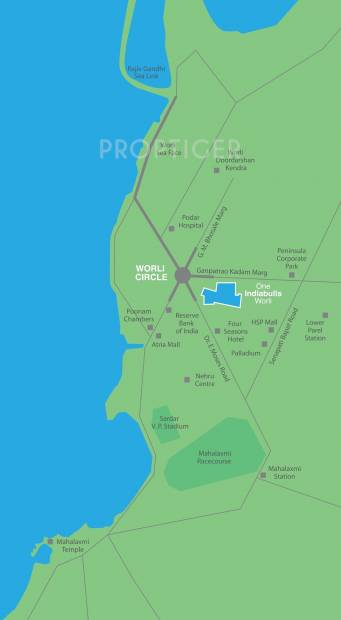 Images for Location Plan of Indiabulls Blu