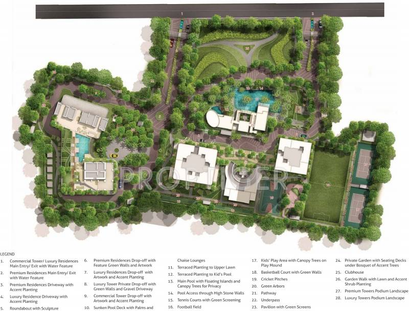 Images for Master Plan of Indiabulls Blu